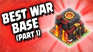 "Clash of Clans ""Best War Base Ever"" Winning Wars in Clash! Part 1 of 2"