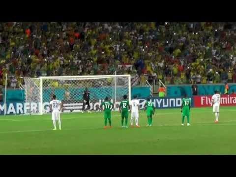World Cup 2014 RD3: Final minutes of Greece vs Ivory Coast