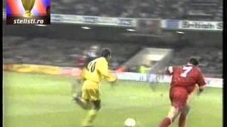 Tara Galilor Romania 1 2 gol Hagi, in comentariul original