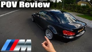 BMW 1M 1 Series M Coupe Review POV Test Drive