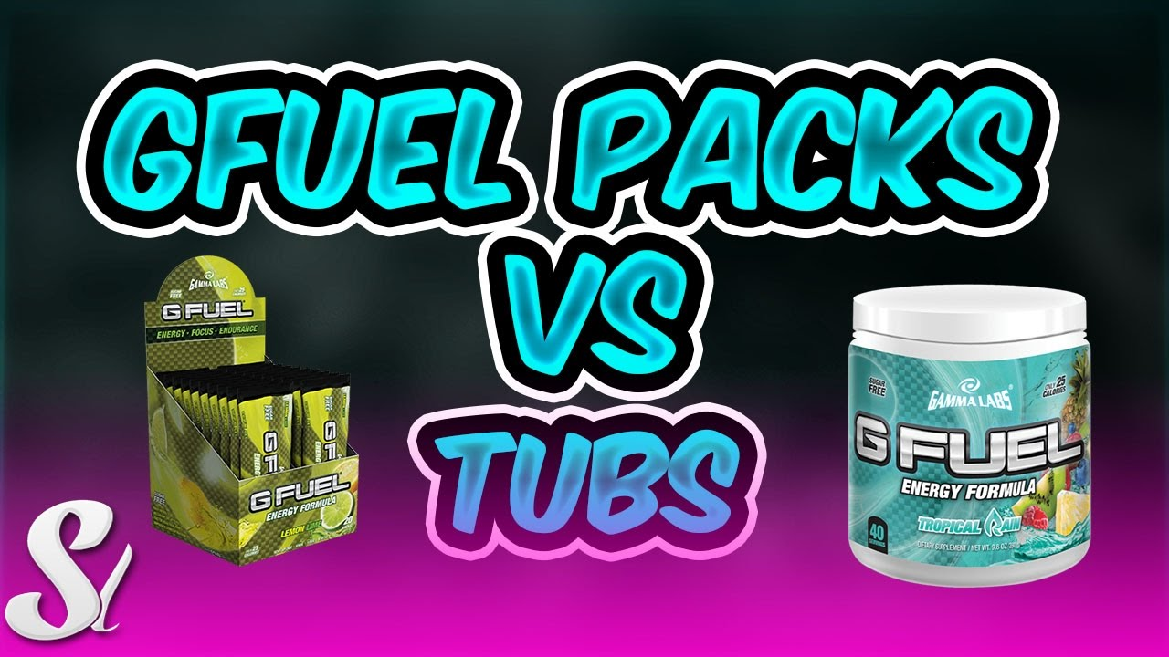 G FUEL PACKS VS TUBS WHAT TO BUY? - YouTube