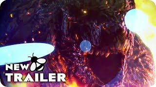 Godzilla: City on the Edge of Battle Japanese Trailer (2018) Godzilla Anime Movie