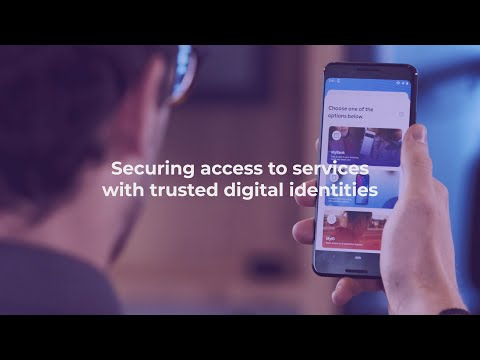 Securing access to services with trusted digital identities