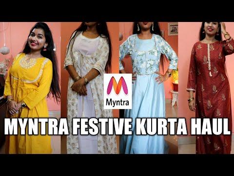 #myntrafestivekurtihaul#myntra-festive-kurta-haul-for-diwali-haul-2019