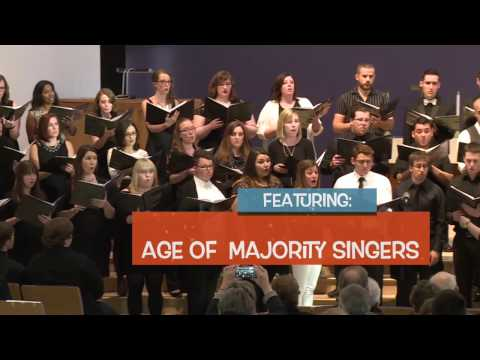 Age of Majority Singers - Winter Concert Promo