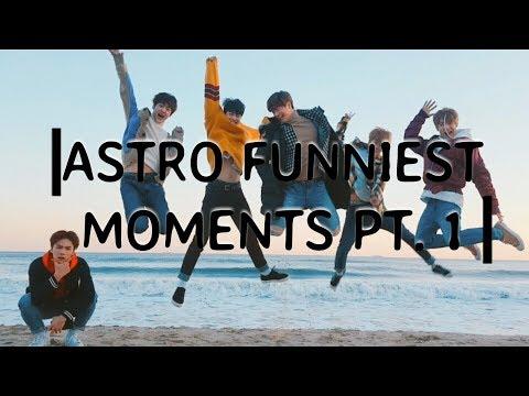 ASTRO 아스트로 Funniest Moments Pt. 1