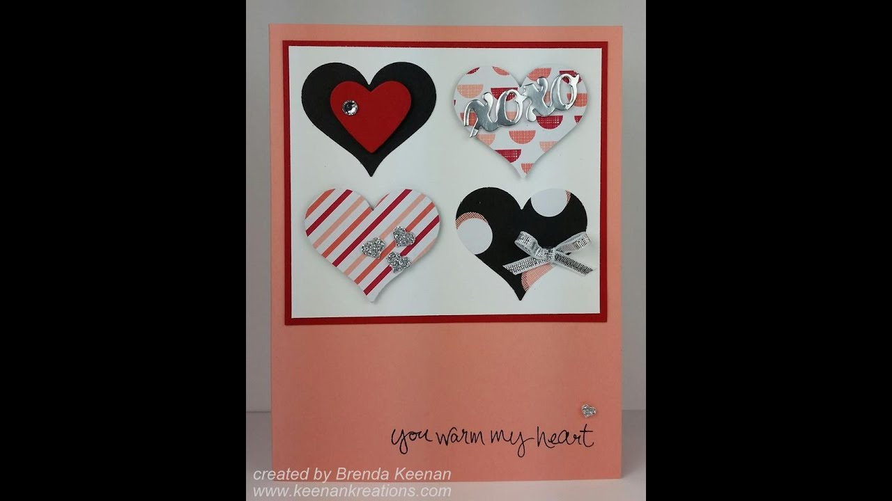 quick and easy stampin up valentine card youtube - Stampin Up Valentine Cards