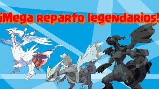 REPARTO ESPECIAL ZEKROM, RESHIRAM Y KYUREM!!!!