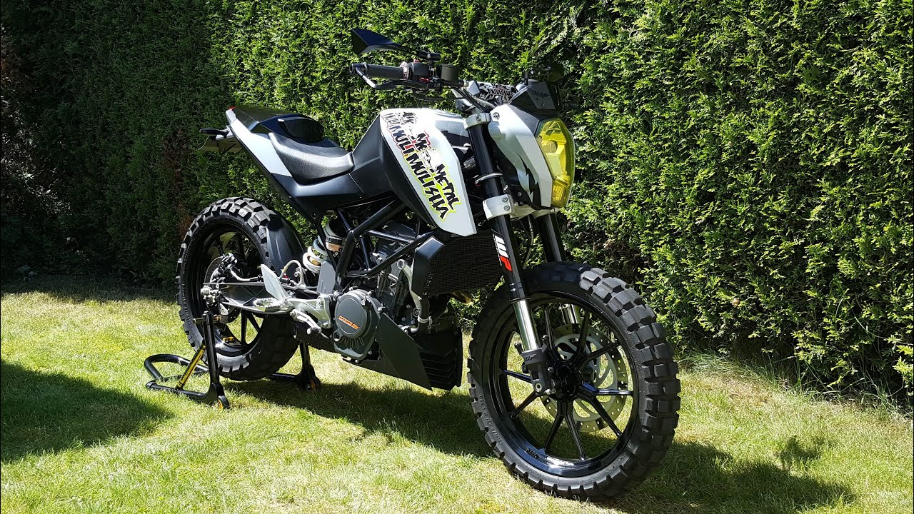 Ktm Duke Scrambler Kit