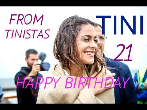 TINI! Happy Birthday! Congratulations from my Tinistas subscribers. Kristina Ti