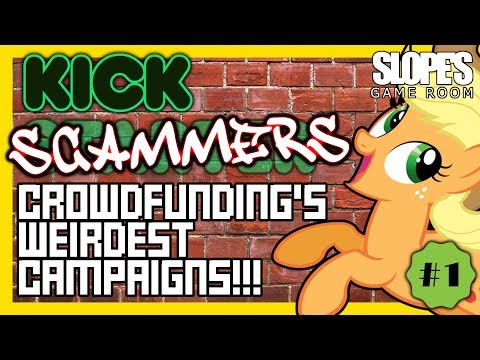 #1, Kick-Scammers: Crowdfunding