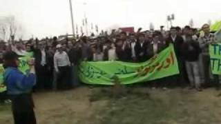Demonstrations to save Lake Urmia in Tabriz and Urmia - Azerbaijan, Iran (2 April 2011)