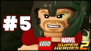 LEGO Marvel Superheroes 2 - Part 5 - Hydra HQ! (HD Gameplay Walkthrough)