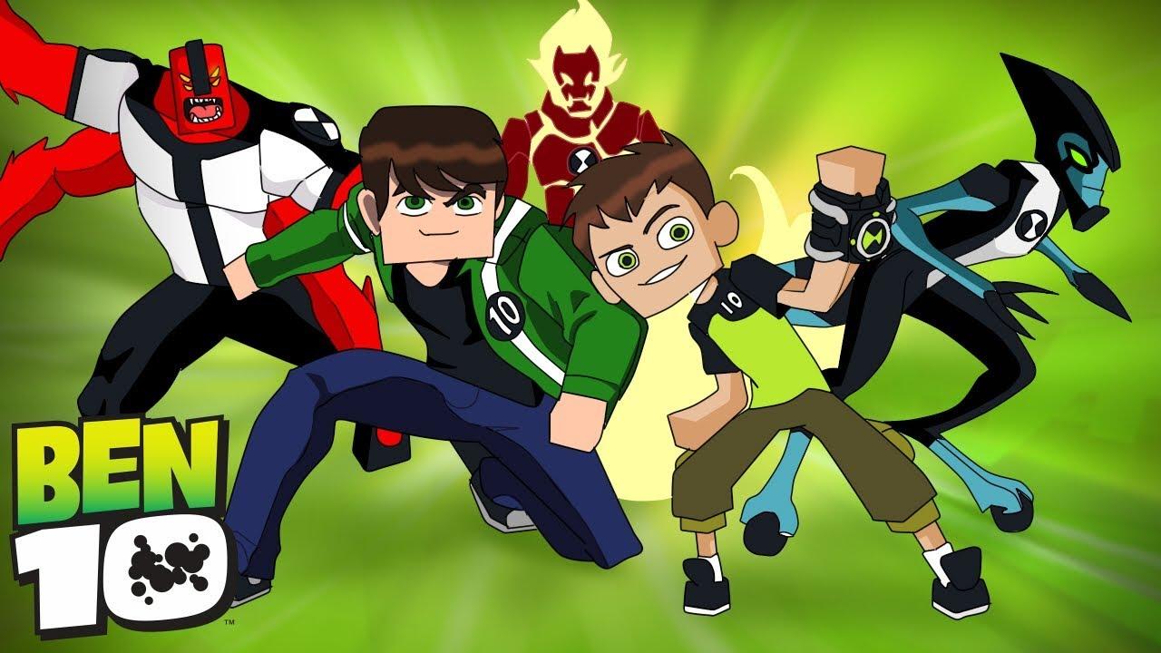 Minecraft Who S Your Family O Filho Do Ben 10 Supremacia