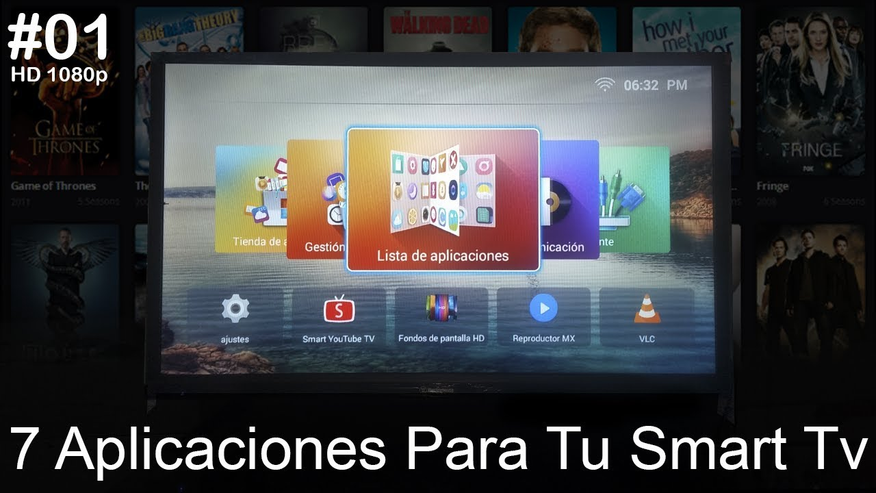 7 Aplicaciones Para Tu Smart Tv (Cable GRATIS y Videos MKV y AVI) |  HD 1080p