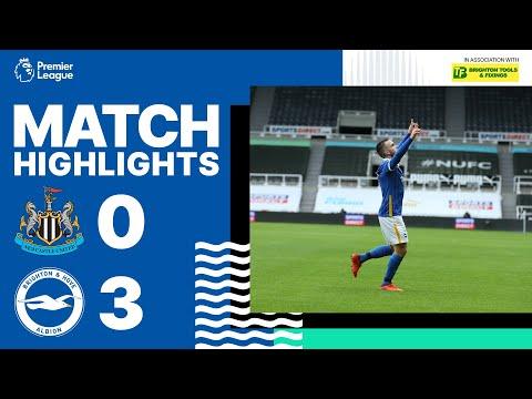 Newcastle United 0 Brighton & Hove Albion 3