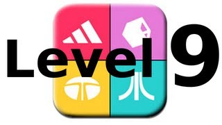 Logos Quiz Game - Level 9 - Walkthrough - All Answers
