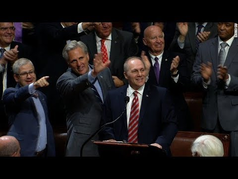 Rep. Steve Scalise returns to congress after being shot