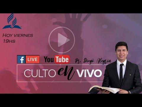 Culto iglesia Adventista, La Pampa, Santa Rosa online en vivo