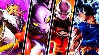 (Dragon Ball Legends) Legendary Finish Ultra Instinct Goku, Jiren, Dyspo & Toppo Gameplay Trailers!