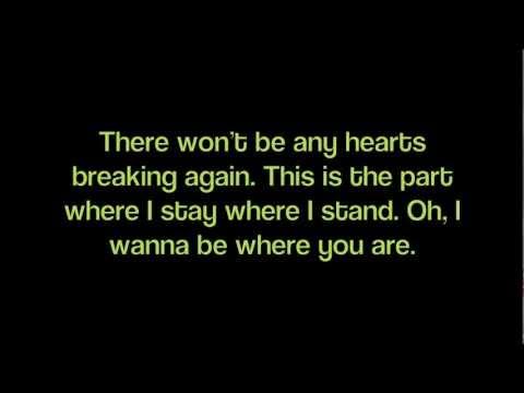 Gavin DeGraw- Where You Are Lyrics