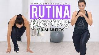Rutina dura de piernas | 20 minutos