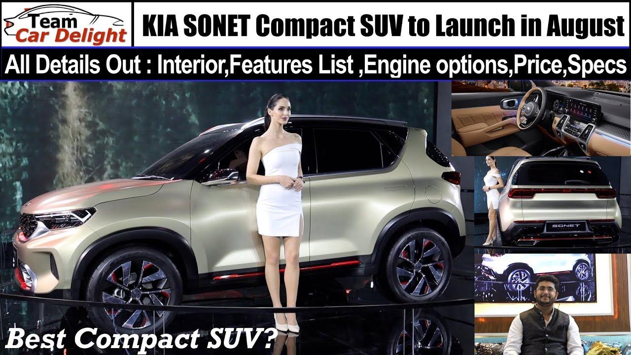 Kia Sonet 2020 Launch Date Price In India Review Interior 2020 Kia Sonet Sonet Hindi Youtube