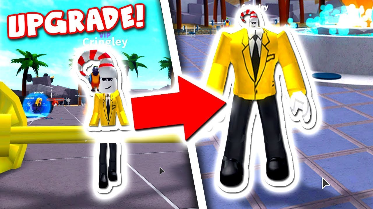 BECOMING THE BIGGEST ROBLOX CHARACTER!! *ON THE PLANET*
