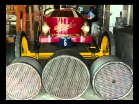 Stanley 1, Fred Marriott, Stanley Rocket Story, Stanley Steam Car History , Recorded 1956
