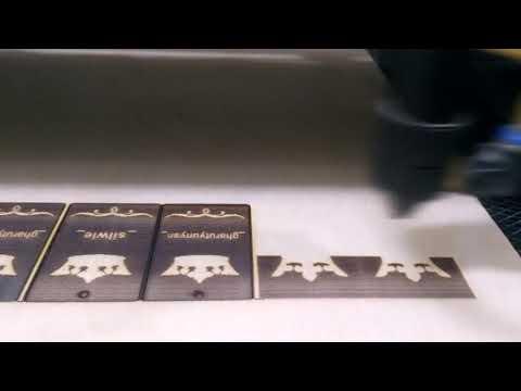DIY Keychain-Laser cut