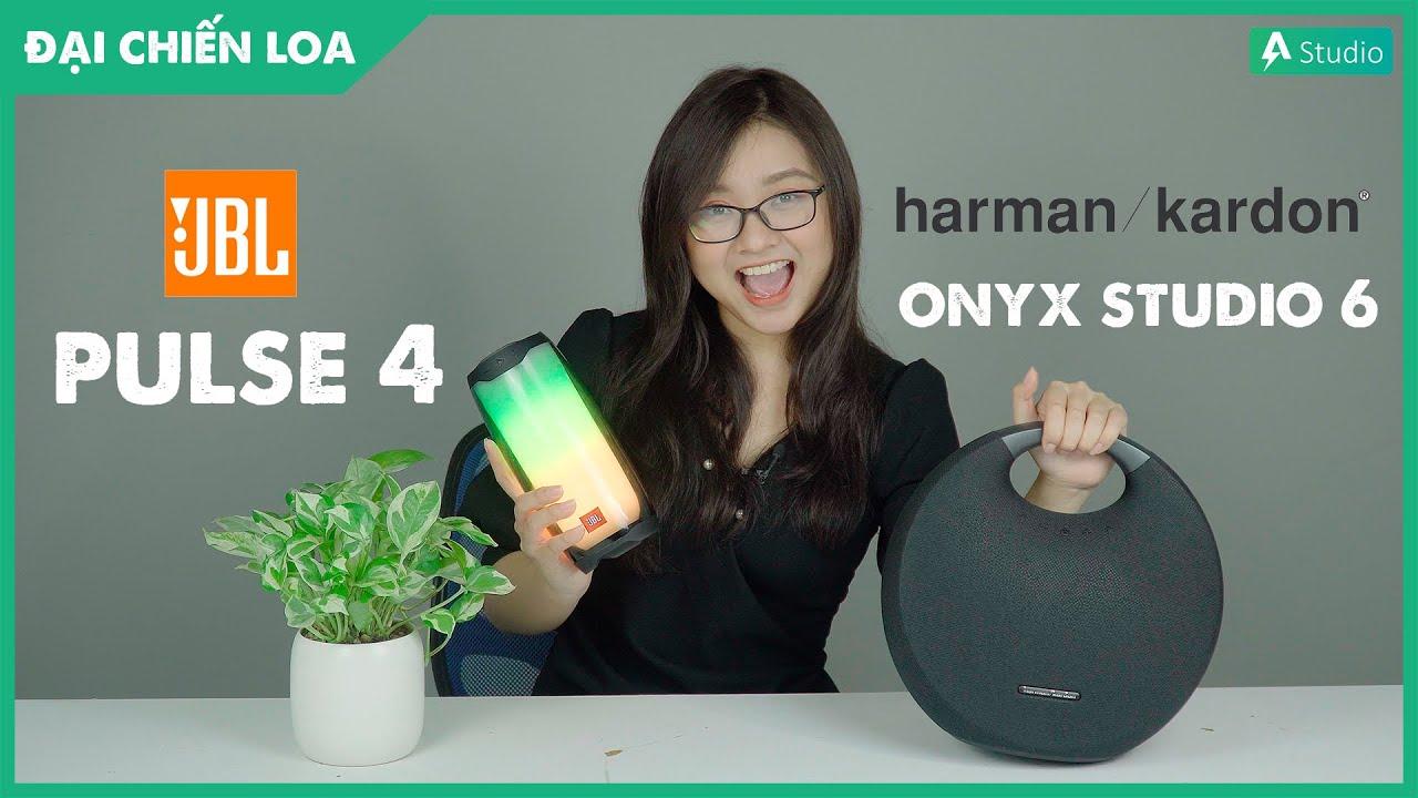[Đại chiến loa] JBL Pulse 4 vs Harman Kardon Onyx Studio 6| Loa nào hơn ???