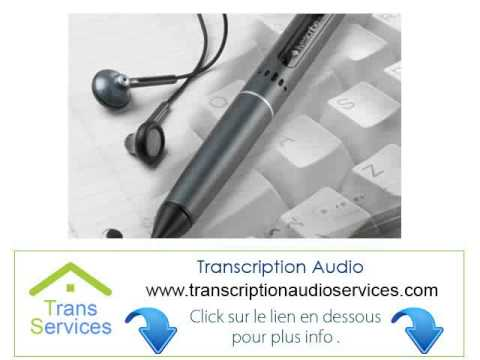 offshore Transcripteur Audio A Domicile