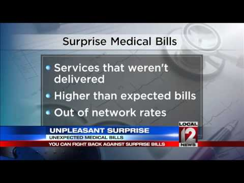 Unexpected medical bills, can you fight back?