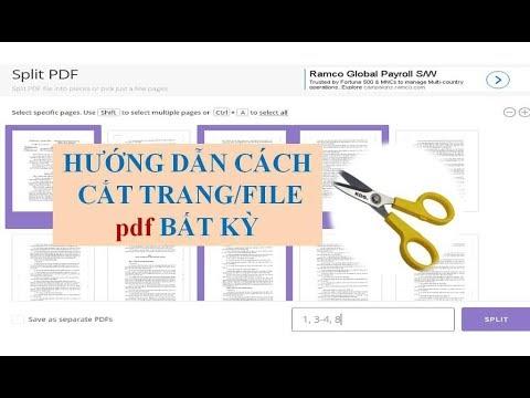 Hướng dẫn cắt trang PDF bất kỳ không cần phần mềm [MẸO CÔNG NGHỆ THÔNG TIN]