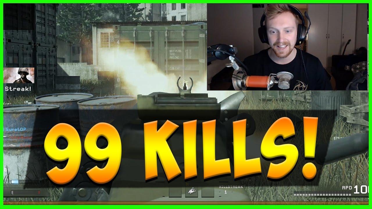 tejbz - 99 Kills Gameplay - Shipment is Special Call Of Duty 4