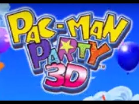 Pac-Man Party 3D (3DS) Three Classic Games