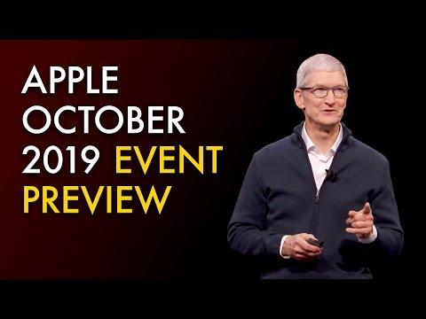 "Apple October 2019 Event Preview — iPad Pro, 16"" MacBook Pro"