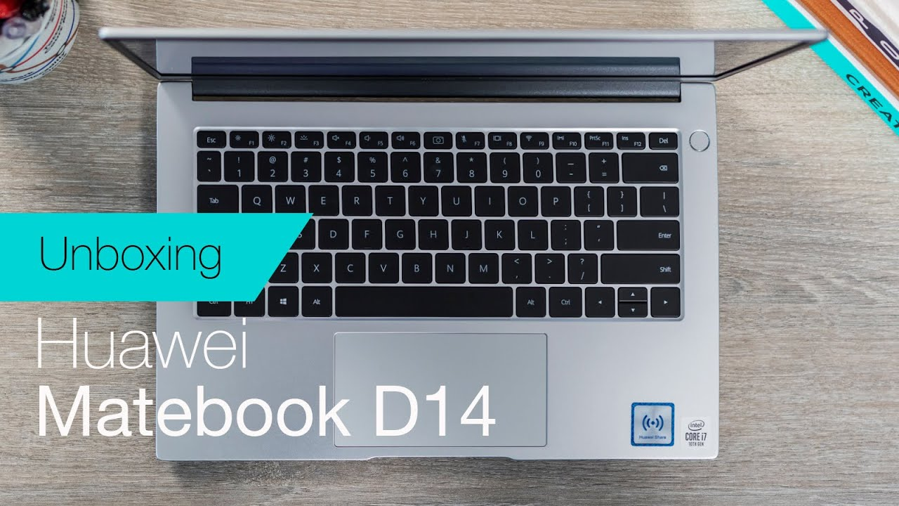 Download Huawei Matebook D14 (2020) unboxing & first impressions