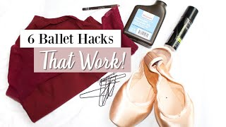 6 Ballet & Dance Hacks That Work! | Kathryn Morgan