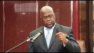 FELIX TSHISEKEDI REPOND A KABILA ET FAYULU EN DIRECT DE NAMIBIE