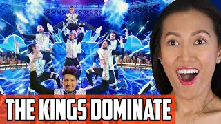 The Kings On World Of Dance Reaction | Taddad Taddad Brings Transformers And Crazy Flips!