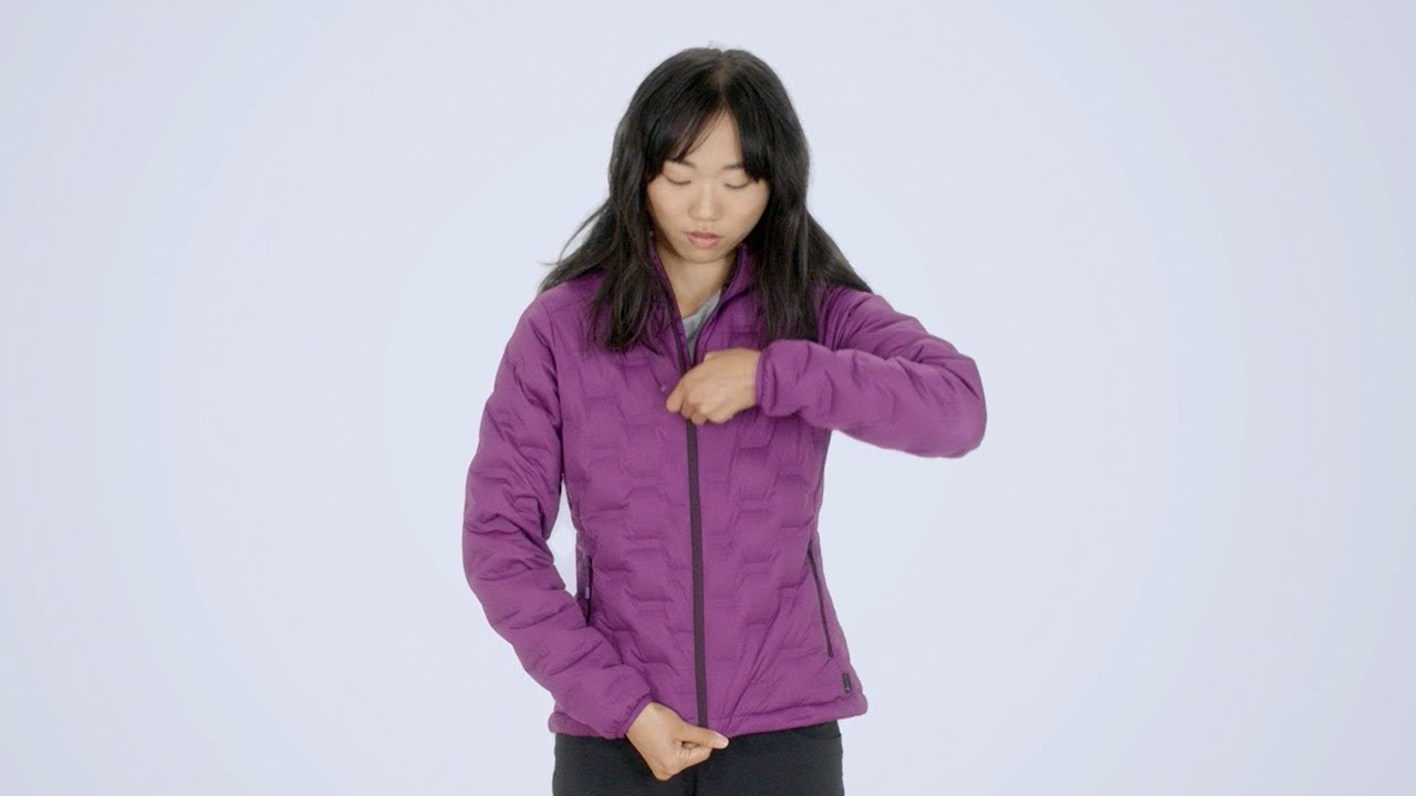 f4f8295c5f3f Mountain Hardwear Women's StretchDown DS Jacket - YouTube