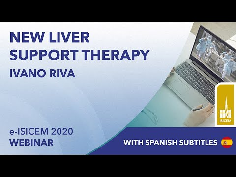 New liver support theraphy | Ivano Riva | e-ISICEM 2020 | spanish subtitle