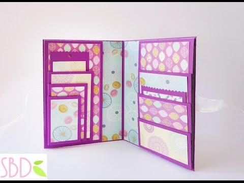 Smash book Slim DIY - Porta foto e ricordi