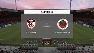 FIFA 21 Gaziantep vs Genclerbirligi Turkey Super Lig 02 03 2021 1080p 60FPS