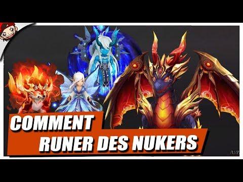 🔴 COMMENT RUNER DES MONSTRES NUKER, ATTAQUE, DPS ...  -  Summoners War FR