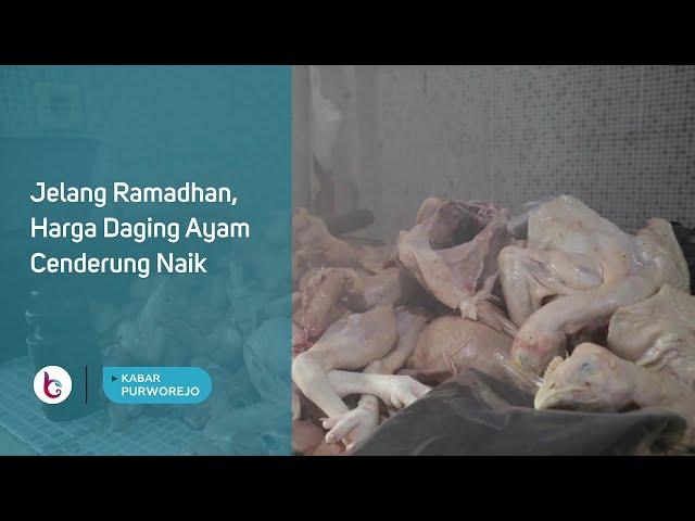 Jelang Ramadhan, Harga Daging Ayam Cenderung Naik