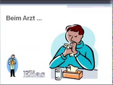 Dialog: Beim Arzt (Grippe)