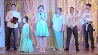 Поздравление на свадьбу от тети, сестер, братьев жениха/ Поздравление от семьи жениха
