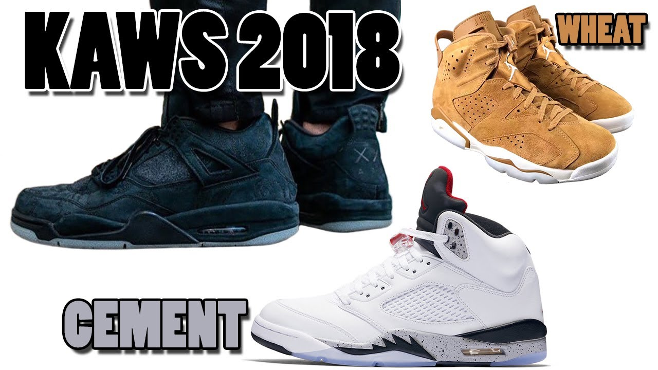 e9538cb39e92fd KAWS AIR JORDAN 4 BLACK RELEASING in 2018
